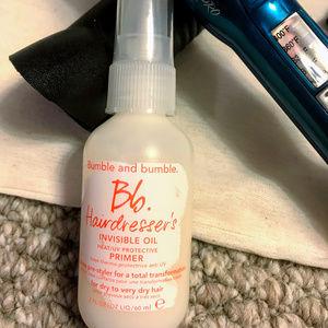bumble & bumble heat protectant spray